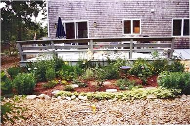 Oak Bluffs Martha's Vineyard vacation rental - Spacious back deck with gas grill