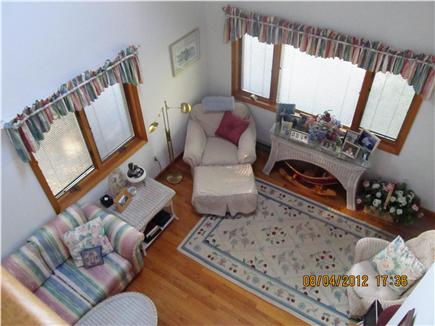 Oak Bluffs Martha's Vineyard vacation rental - Living room/ Great Room Viewed from above in Den