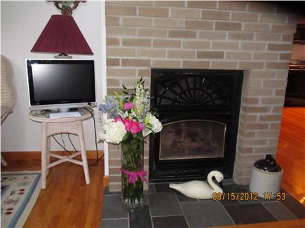 Oak Bluffs Martha's Vineyard vacation rental - Beautiful Livingroom Fireplace