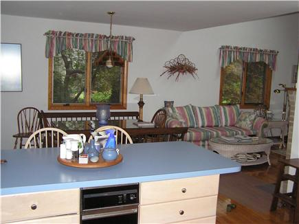 Oak Bluffs Martha's Vineyard vacation rental - Kitchen showing view of  Great room