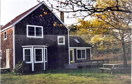 West Tisbury Martha's Vineyard vacation rental - Back yard
