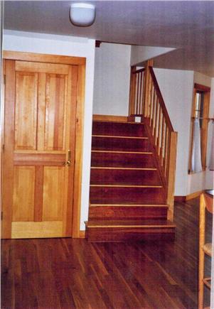 West Tisbury Martha's Vineyard vacation rental - Stairway