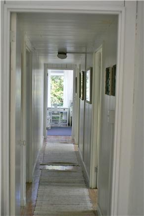 Oak Bluffs, Waterview Farm Martha's Vineyard vacation rental - Looking down hall from front foyer to master bedroom