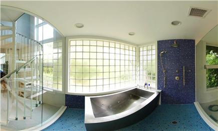 West Tisbury Martha's Vineyard vacation rental - Glass Bathroom