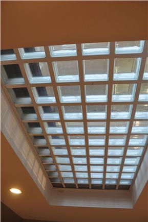 West Tisbury Martha's Vineyard vacation rental - Glass Block Floor