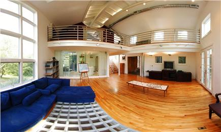 West Tisbury Martha's Vineyard vacation rental - Great Room
