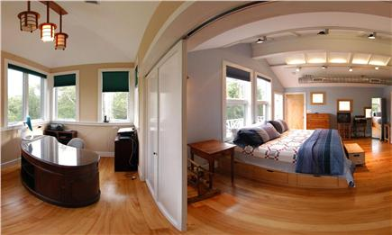 West Tisbury Martha's Vineyard vacation rental - View Of Bedroom And Office