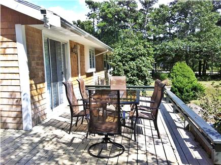 Katama - Edgartown Martha's Vineyard vacation rental - Deck