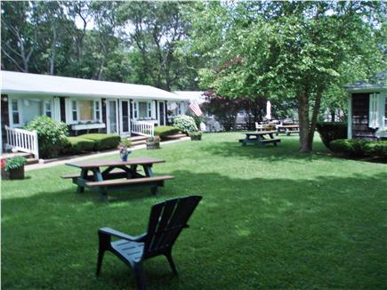 Vineyard Haven Martha's Vineyard vacation rental - Outdoor space with picnic tables and chairs
