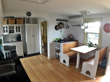 Edgartown Martha's Vineyard vacation rental - Kitchen has a great sitting area for breakfast or cards.