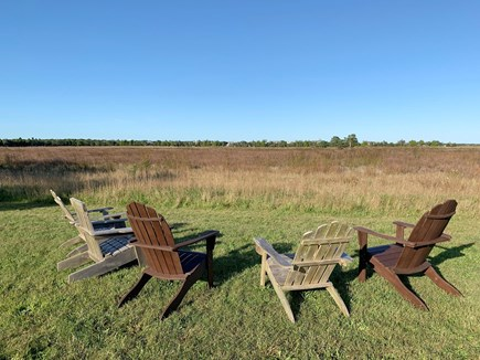 Katama - Edgartown Martha's Vineyard vacation rental - Chairs with a view