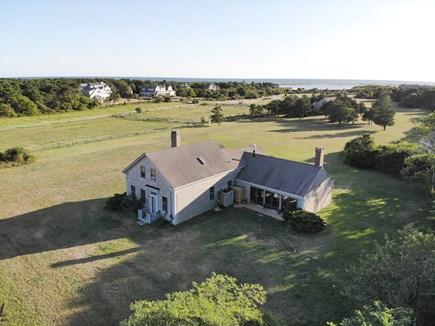 Katama - Edgartown Martha's Vineyard vacation rental - Arial View of property