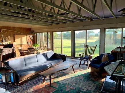 Katama - Edgartown Martha's Vineyard vacation rental - Family Room Dining Area