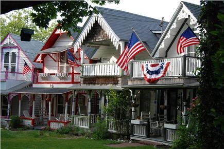 Oak Bluffs Martha's Vineyard vacation rental - Gingerbread Cottages very short walk away