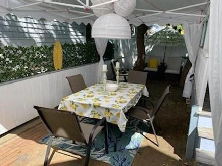 Oak Bluffs Martha's Vineyard vacation rental - Patio table