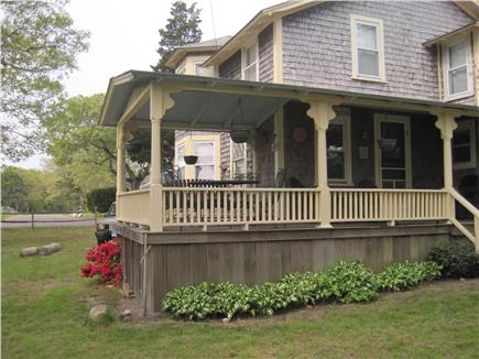 Oak Bluffs Martha's Vineyard vacation rental - Back Porch