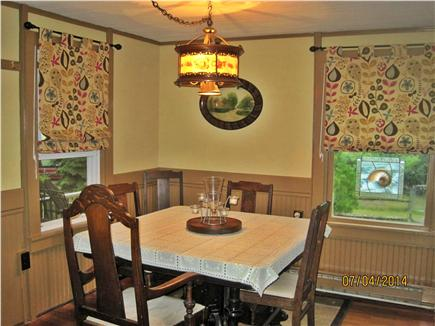 Oak Bluffs Martha's Vineyard vacation rental - Dining Room with antique reverse painting light