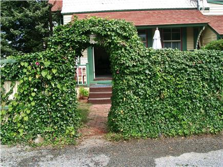 Oak Bluffs Martha's Vineyard vacation rental - Arbor surrounding patio