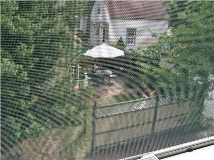 Oak Bluffs Martha's Vineyard vacation rental - Overhead view of patio area