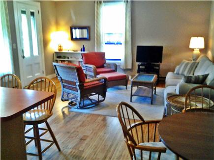 Oak Bluffs Martha's Vineyard vacation rental - Entrance to living room from porch and patio