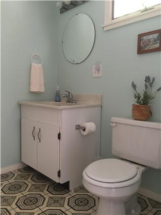 Oak Bluffs Martha's Vineyard vacation rental - First floor main bathroom with tub/shower & washer/dryer