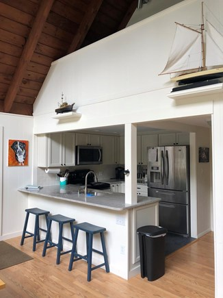 Oak Bluffs Martha's Vineyard vacation rental - Easy living in the clean, open floor plan with coastal decor