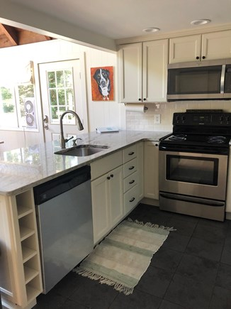 Oak Bluffs Martha's Vineyard vacation rental - Updated kitchen with granite counters and stainless appliances