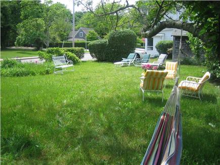 Vineyard Haven Martha's Vineyard vacation rental - Back yard