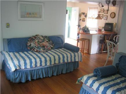 Vineyard Haven Martha's Vineyard vacation rental - Sitting Room & Kitchen