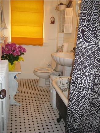 Vineyard Haven Martha's Vineyard vacation rental - Downstairs Bathroom