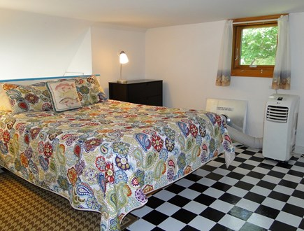 Oak Bluffs Martha's Vineyard vacation rental - Loft area upstairs, queen bed and air conditioning