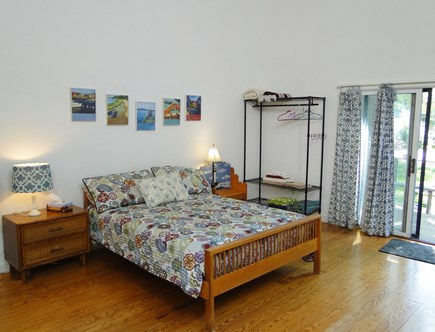 Oak Bluffs Martha's Vineyard vacation rental - Queen size bed area on the first level