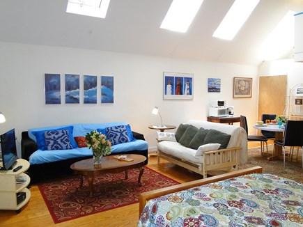 Oak Bluffs Martha's Vineyard vacation rental - Skylights above, wood floors below - first level open studio spac