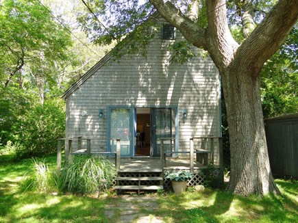 Oak Bluffs Martha's Vineyard vacation rental - Welcome to our Wooded Haven, surrounded by shade trees on 3 sides