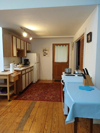 Oak Bluffs Martha's Vineyard vacation rental - Kitchen area:electric stove,coffeemaker.Access to grill and deck