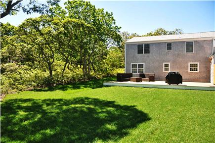 Edgartown Martha's Vineyard vacation rental - Back of the house