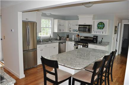 Edgartown Martha's Vineyard vacation rental - New kitchen with granite counters and stainless steel appliances