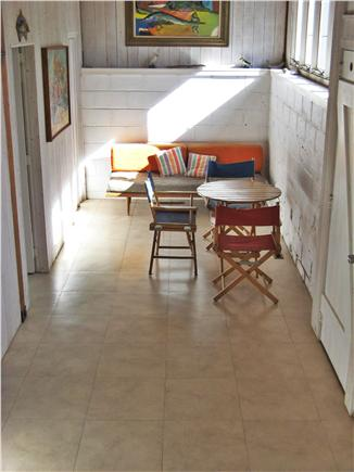 Chilmark Martha's Vineyard vacation rental - Hall outside the two first floor bedrooms.