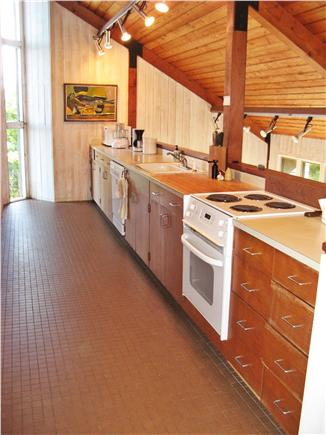 Chilmark Martha's Vineyard vacation rental - Kitchen on second floor around corner from dining area.