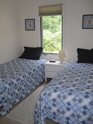 Chappaquiddick Martha's Vineyard vacation rental - First floor bedroom with 2 twin beds.