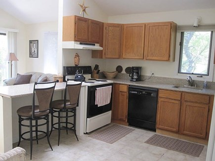 Chappaquiddick Martha's Vineyard vacation rental - View of kitchen.
