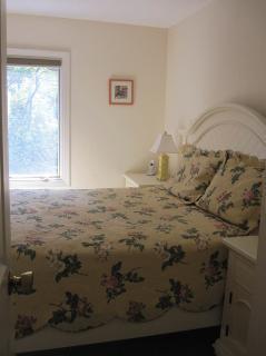 Chappaquiddick Martha's Vineyard vacation rental - Bedroom on first floor with queen size bed
