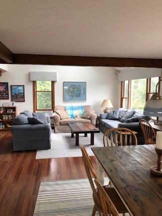 Katama - Edgartown, Edgartown Martha's Vineyard vacation rental - Oak Floors Living and Dining