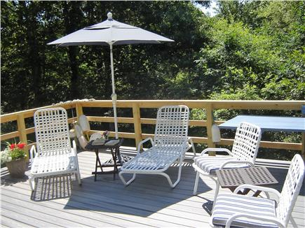 85 Tea Lane, Chilmark Martha's Vineyard vacation rental - Relax On The Spacious Deck