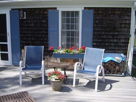 85 Tea Lane, Chilmark Martha's Vineyard vacation rental - Private, quiet, and relaxing deck