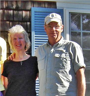 85 Tea Lane, Chilmark Martha's Vineyard vacation rental - The owners: Brian and Caroline Giles