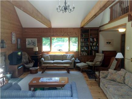 West Tisbury, Lambert's Cove area off State  Martha's Vineyard vacation rental - Spacious, light-filled, comfortable and beautiful living area