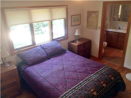 West Tisbury, Lambert's Cove  Martha's Vineyard vacation rental - Master BR: fall asleep to the sounds of wind through the trees