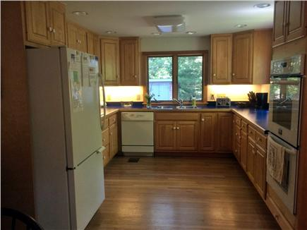 West Tisbury, Lambert's Cove area off State  Martha's Vineyard vacation rental - Bright and airy kitchen with room for multiple chefs