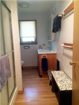 West Tisbury, Lambert's Cove  Martha's Vineyard vacation rental - Master bathroom with large shower stall